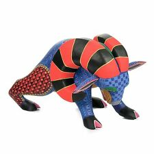 RAM Oaxacan Alebrije Wood Animal Carving Mexican Folk Art Sculpture Painting