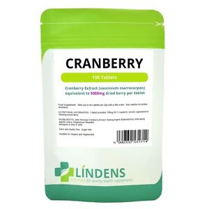 Lindens Cranberry Juice 5000mg 100 Tablets