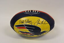 Adelaide Crows Team Signed Faulkner Football - Year 2000