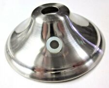 """1 New lamp pull switch chain cord cover canopy cap satin nickel 2-5/8"""" diameter"""