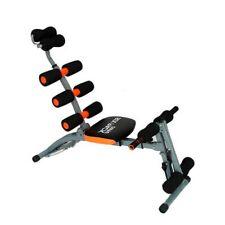 Banco de abdominales 6 en 1 fitness entrenamiento musculacion 86 x 34 x 28 cm.