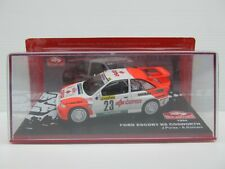 FORD ESCORT RS COSWORTH #23, J Puras, 1994 MONTE CARLO RALLY, 1:43 Scale, ALTAYA
