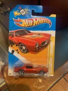 2012 Hot Wheels New Models '73 Pontiac Firebird #16 Orange