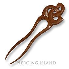 Exclusive Haarnadel Holz Edel Wood Hairpin Handarbeit Design HN255