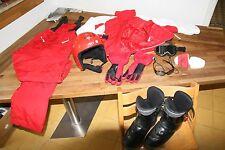 Kinder-Ski-Anzug-Helm-Handschuhe-Schuhe JAKO-O 130-140cm -ZUFRIEDENHEITSGARANTIE