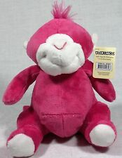 1 Bright Pink Fluffy Monkey Korimco 9312552556586 51-6243V.MONK Jungle Friends