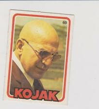 Monty Gum trading Card - 1975 - TV Cop Series Kojak - Telly Savalas - Card No 69