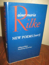 1st Edition NEW POEMS (1907) Rainer Maria Rilke POETRY Bilingual FIRST PRINT