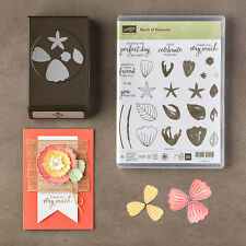 """Stampin Up """"BUNCH OF BLOSSOMS"""" Photopolymer Stamp Set & Blossom Builder Punch"""