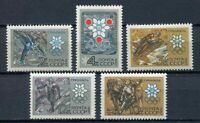 28906) Russia 1967 MNH New Winter Olympic Games, 5v