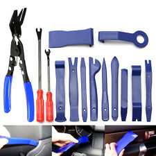 14-tlg KFZ Innenraumverkleidung-Werkzeug Cliplöser-Demontage-Satz Montagehebel