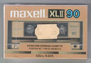 Maxell  XL II  90   NEU /  OVP    MADE IN JAPAN