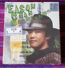 Eason Chan ( 陳奕迅 ) ~ 我的最好時代 (3CD + Bonus Karaoke DVD) ( Hong Kong Press ) Cd