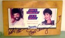 Lucie Arnaz Yakov Smirnoff Harrah's Tahoe Signed Wood Plaque Lucille COA Video