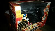 """Doctor Who 5"""" Black Radio Controlled Dalek Sec Speech and Sounds Boxed New,"""