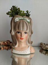 """Vintage Royal Crown Lady Head Vase-Model #3410-4.5""""-Japan"""