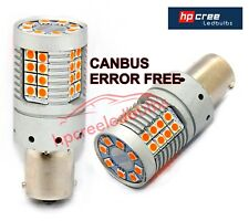 NEW 2018 CANBUS 48W PY21W 581 BAU15S 7507 BRIGHTEST LED AMBER INDICATOR BULBS