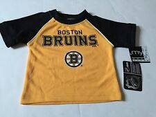 NEW  INFANTS NHL BOSTON BRUINS HOCKEY SHIRT SZ- 12 MONTHS
