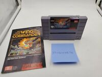 Wing Commander (Super Nintendo Entertainment System, 1992) with Manual