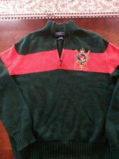 Ralph Lauren Equestrian Crest Sweater Size S
