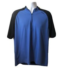 Sugoi Cycling Jersey - Blue and Black - Men's Sz XL