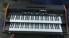 Rare Crumar Organizer T2 T 2 Organ Orgel 2-Manuals Keyboard