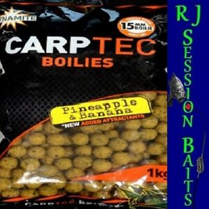 Dynamite Baits Pineapple & Banana 15mm Session Pack of 25 Boilies