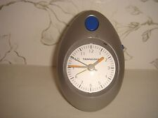 Battery Operated Silver Tamashi Alarm Clock Contemporary Design
