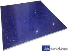 SAMPLE - Blue Quartz Stardust Starlight Mirror Fleck Tiles