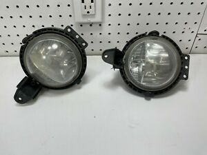 OEM 2007 2008 2009 2010 Mini Cooper Halogen Fog Light set pair lights