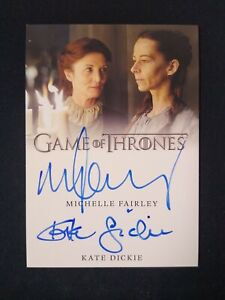 2019 Home Box MICHELLE FAIRLEY KATE DICKIE Autos Game Of Thrones *NL02-A