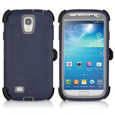 OtterBox Defender Galaxy S4 Case & Holster Marine Navy Blue / Gray OEM Original