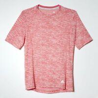 Adidas Climacool Damen Sport T-Shirt Babydoll Laufshirt Sport Top pink koralle