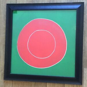 Terry Frost Orchard Tambourine C #22 Signed woodblock print