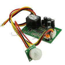 12V PIR IR Pyroelectric Infrared Module Adjustable Relay Output Sensor S
