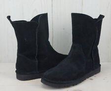 Ugg Australia Women's Boots Short Black Alida Unlined Sz 6 NIB No Lid