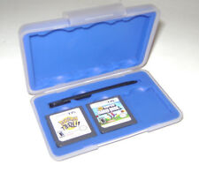 Lot of Nintendo DS Games Super Mario Bros & Pokemon Trozei & Storage Case w/ Pen