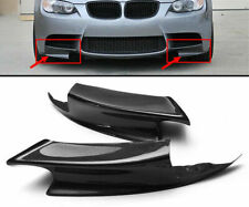 ✅REAL Carbon Fiber Front Lip Splitters FOR BMW E90 E92 E93 for M3 BUMPER ONLY !!
