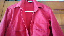 Five Brother Red Medium Chami Button Down Pocket Shirt Neck 15