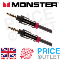 Monster ® Auxiliary Cable 3.5mm Stereo Jack HQ Aux Lead Male Audio 24K (K87