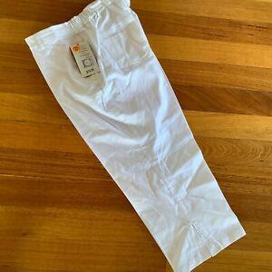 Black Pepper / Equus White 3/4 cotton Pant Jeans RRP $79.95 10, 14, 16, 18