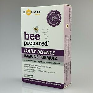 Unbeelievable Bee Prepared Daily Defence Immune Formula 30caps