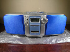 Jvc Rc-Bz6Bu Cd Portable Player Tuner Radio Boombox *open/damaged box*