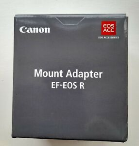 CANON EF-EOS R MOUNT ADAPTER  + POUCH  BRAND NEW