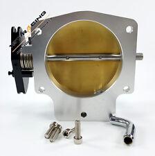 102MM Alminum Throttle Body for GM GM3 LS LS1 LS2 LS3 LS6 LS7 LSX Silver New