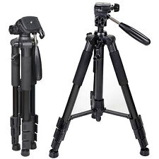 Zomei Z666 Travel Aluminum Camera Tripod With 3-Way Pan Head For DSLR Camera