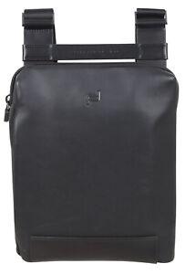 Porsche Design Men's Leather Shoulder Bag Casual Messenger Bag Black