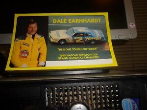 1981 Dale Earnhardt No. 2 Wrangler Pontiac Vintage NASCAR Postcard