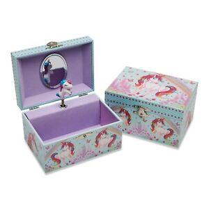 Lucy Locket 'Unicorn Dream' Musical Jewellery Box for Children - Kids Music Box