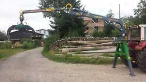 Forstkran 5.1 Dreipunkt Rückekran Verladekran Rückewagen Ladekran Farma Kran